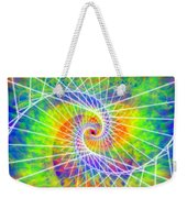 Cosmic Spiral Ascension 03 Weekender Tote Bag
