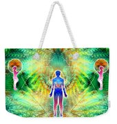 Cosmic Spiral Ascension 12 Weekender Tote Bag
