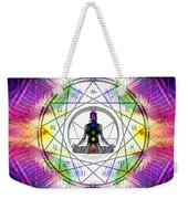 Cosmic Spiral Ascension 14 Weekender Tote Bag