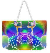Cosmic Spiral Ascension 17 Weekender Tote Bag