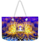 Cosmic Spiral Ascension 18 Weekender Tote Bag by Derek Gedney