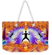 Cosmic Spiral Ascension 19 Weekender Tote Bag