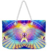 Cosmic Spiral Ascension 20 Weekender Tote Bag