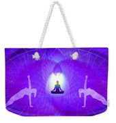 Cosmic Spiral Ascension 28 Weekender Tote Bag
