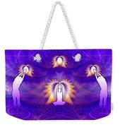 Cosmic Spiral Ascension 31 Weekender Tote Bag