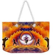 Cosmic Spiral Ascension 54 Weekender Tote Bag