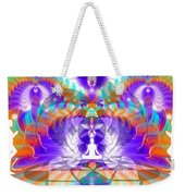 Cosmic Spiral Ascension 61 Weekender Tote Bag