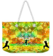 Cosmic Spiral Ascension 66 Weekender Tote Bag