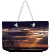 Cosmic Spotlight On Shannon Airport Weekender Tote Bag
