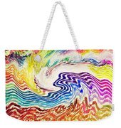 Cosmic Waves Weekender Tote Bag