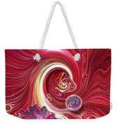 Cosmic Waves Weekender Tote Bag