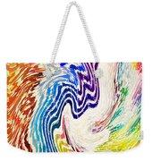 Cosmic Waves Vertical Weekender Tote Bag