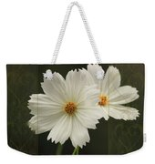 Cosmos And Hearts Weekender Tote Bag