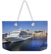 Costa Cruise Ship Weekender Tote Bag
