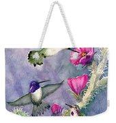 Costa Hummingbird Family Weekender Tote Bag