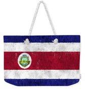 Costa Rica Flag Weekender Tote Bag