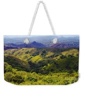 Costa Rica Mountains Weekender Tote Bag