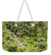 Costa Rica Zip Line View Weekender Tote Bag
