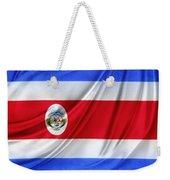 Costa Rican Flag Weekender Tote Bag