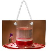 Costa's Hummingbird Keeping Guard Weekender Tote Bag