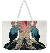 Costume Design For A Chinaman Weekender Tote Bag