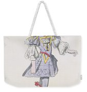 Costume Design For Geometry In A 17th Weekender Tote Bag