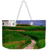 Cottage Among The Dunes Weekender Tote Bag by Edward Fielding
