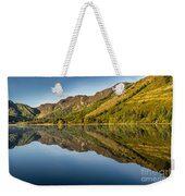 Cottage By The Lake Weekender Tote Bag