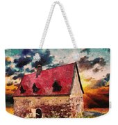 Cottage By The Sea - Abstract Realism Weekender Tote Bag