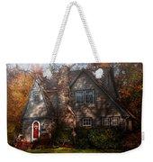 Cottage - Cranford Nj - Autumn Cottage  Weekender Tote Bag