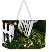 Cottage Entry  Weekender Tote Bag