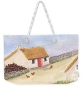 Cottage In The West Weekender Tote Bag