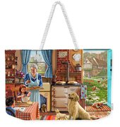 Cottage Interior Weekender Tote Bag