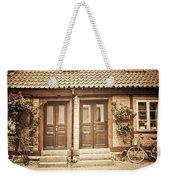 Cottage Townhouses In Lund Weekender Tote Bag