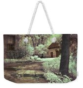 Cottages In The Woods Weekender Tote Bag by Jill Battaglia