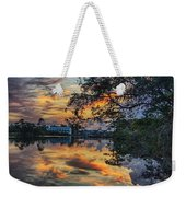 Cotton Bayou Sunrise Weekender Tote Bag