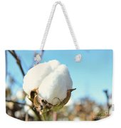Cotton Boll I Weekender Tote Bag