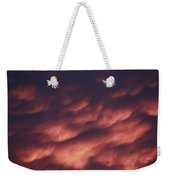 Cotton Candy Clouds Weekender Tote Bag