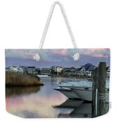 Cotton Candy Clouds Two Weekender Tote Bag