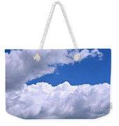 Cotton Clouds Weekender Tote Bag