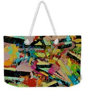 Cotton Crystal Weekender Tote Bag
