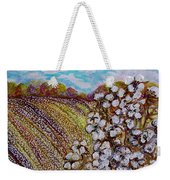Cotton Fields In Autumn Weekender Tote Bag