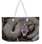 Cotton Mouth Weekender Tote Bag