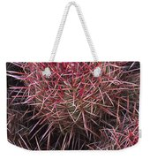 Cotton-top Cactus Detail Weekender Tote Bag