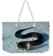 Cottonmouth Threat Display Weekender Tote Bag