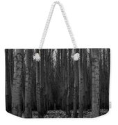 Cottonwood Alley Monochrome Weekender Tote Bag