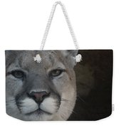 Cougar Digitally Enhanced Weekender Tote Bag