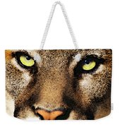 Cougar Eyes Weekender Tote Bag
