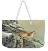 Cougar Perch Weekender Tote Bag