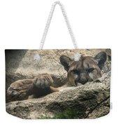 Cougar Spotted Me Weekender Tote Bag